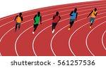 Man Athletes Runners Running...