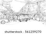 Sketch Cityscape Of Chiangmai ...
