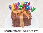 Chocolate Caramel Birthday Cak...