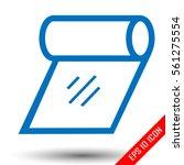 tissue icon. tissue sign....   Shutterstock .eps vector #561275554