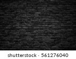 gloomy background  black brick... | Shutterstock . vector #561276040
