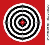 practice shooting range target... | Shutterstock .eps vector #561298600