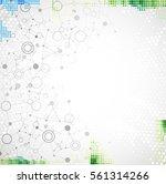 abstract geometric vector... | Shutterstock .eps vector #561314266