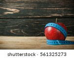 Fresh Apple With Measuring Tap...