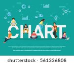 chart concept illustration of... | Shutterstock .eps vector #561336808