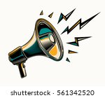 megaphone sign icon | Shutterstock .eps vector #561342520