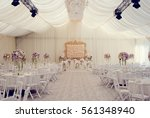view of the wedding hall  the... | Shutterstock . vector #561348940
