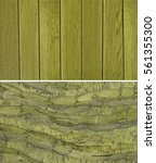 wood texture. lining boards... | Shutterstock . vector #561355300
