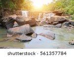 tat ton waterfall  chaiyaphum... | Shutterstock . vector #561357784