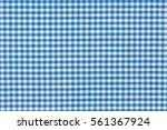 blue plaid pattern macro photo. ... | Shutterstock . vector #561367924
