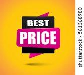 best price bubble banner in... | Shutterstock .eps vector #561368980