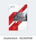 brochure template layout  cover ... | Shutterstock .eps vector #561369568
