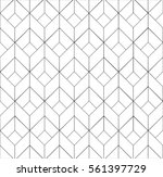3d square boxes pattern | Shutterstock .eps vector #561397729