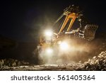 mining construction industry.... | Shutterstock . vector #561405364