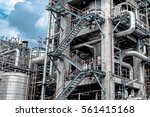 close up industrial view at oil ... | Shutterstock . vector #561415168