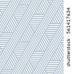 seamless striped lines pattern. ... | Shutterstock .eps vector #561417634