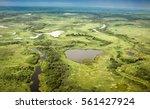 Aerial View Of Pantanal...