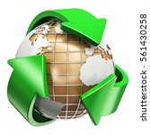 recycling  ecology and... | Shutterstock . vector #561430258