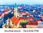 scenic aerial panorama of the... | Shutterstock . vector #561436798