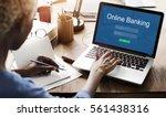 online payment internet banking ... | Shutterstock . vector #561438316