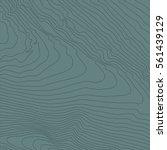 topographic map background... | Shutterstock .eps vector #561439129