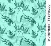 seamless pattern with...   Shutterstock . vector #561445270