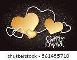 vector illustration of women's... | Shutterstock .eps vector #561455710