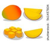 abstract vector illustration... | Shutterstock .eps vector #561457834