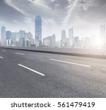ground roads and the city... | Shutterstock . vector #561479419
