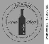 wine shop label | Shutterstock .eps vector #561502408