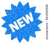 new sticker grainy textured... | Shutterstock . vector #561504508