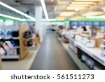 electronics store blurred... | Shutterstock . vector #561511273