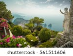 panorama of capri island from... | Shutterstock . vector #561511606