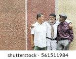 group of senior retirement... | Shutterstock . vector #561511984