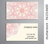 invitation  business card or... | Shutterstock .eps vector #561514600