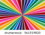background of colorful radial... | Shutterstock . vector #561519820