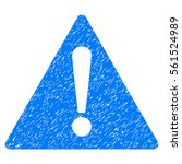 warning grainy textured icon...