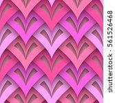 cutout paper texture  vector... | Shutterstock .eps vector #561526468