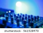 professional club dj sound... | Shutterstock . vector #561528970