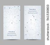 set of vertical banners.... | Shutterstock .eps vector #561530803