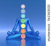 Chakras Blue Meditation   3d...