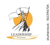 leadership logo concept | Shutterstock .eps vector #561596704