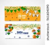 india republic day.... | Shutterstock .eps vector #561604090