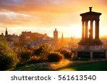 Edinburgh City Skyline Viewed...