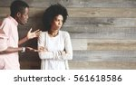 relationship problems.... | Shutterstock . vector #561618586