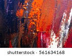 painted abstract background | Shutterstock . vector #561634168