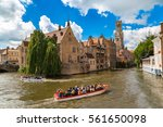 Canal In Bruges And Famous...