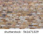 background of old vintage brick ... | Shutterstock . vector #561671329