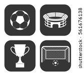 football icons vector set on... | Shutterstock .eps vector #561676138