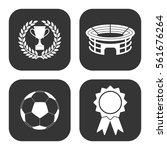 football icons vector set on... | Shutterstock .eps vector #561676264